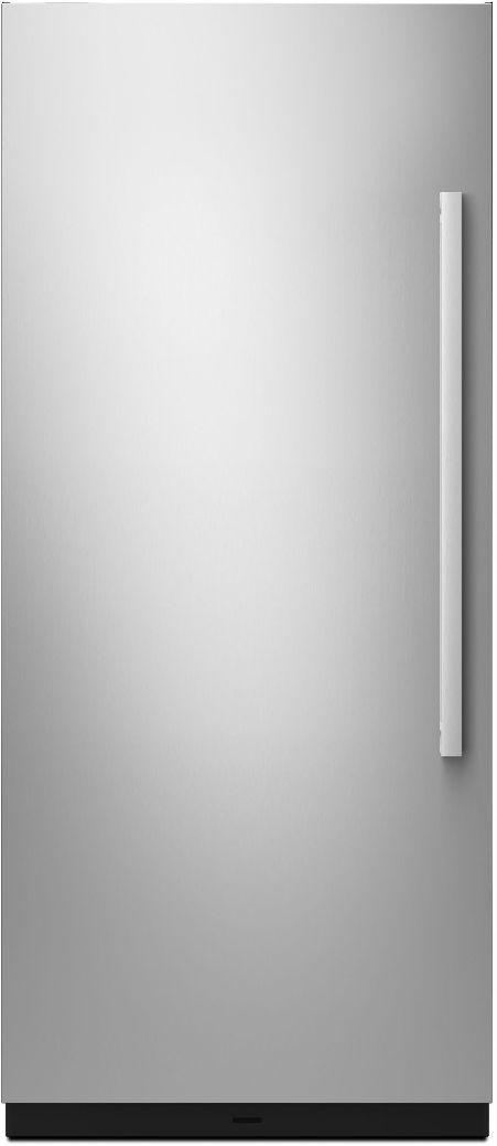 """JennAir® NOIR™ 36"""" Monochromatic Stainless Steel Built-In Column Panel Kit - Left Swing-JKCPL361GM"""