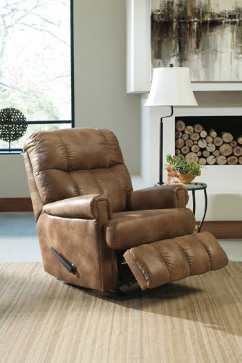 Signature Design by Ashley® Chipster Almond Rocker Recliner-4750025