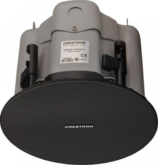 """Crestron® Saros®  Express 4"""" 2-Way In-Ceiling Speaker-Black-SAROS ICE4T-B-T-EACH"""