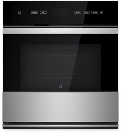 """JennAir® NOIR™ 27"""" Floating Glass Black Electric Single Oven Built In-JJW2427IM"""