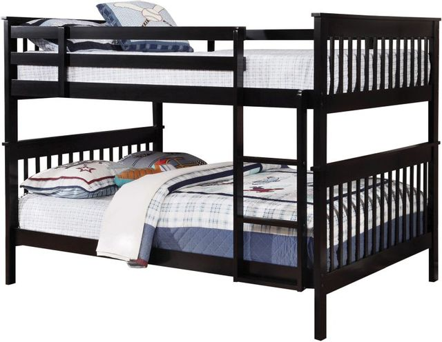 Coaster® Chapman Black Full-Over-Full Youth Bunk Bed-460359