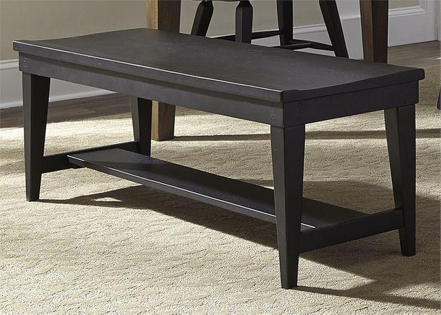 Liberty Furniture Hearthstone Black Bench-482-C9000B