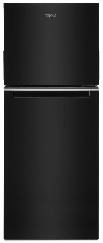 Whirlpool® 11.6 Cu. Ft. Black Top Freezer Refrigerator-WRT312CZJB