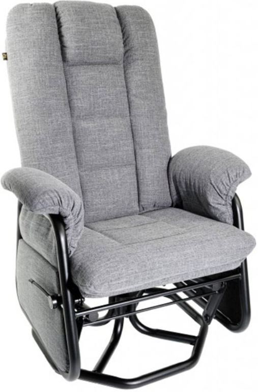 Fauteuil inclinable PEL en tissu gris PEL International®-114219