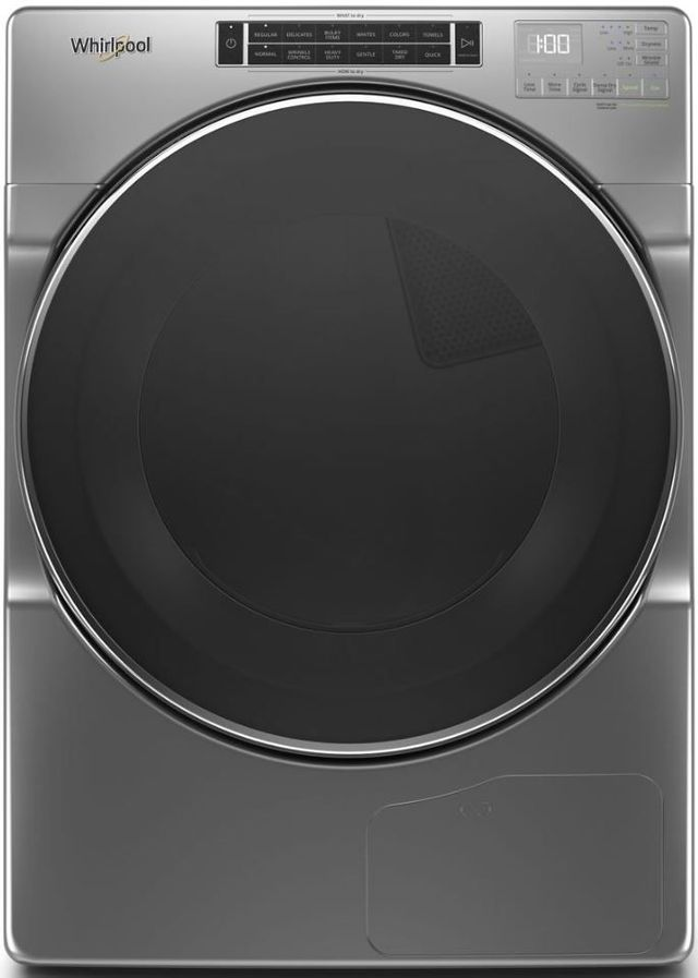 Whirlpool® 7.4 Cu. Ft. Chrome Shadow Front Load Electric Dryer-WHD862CHC