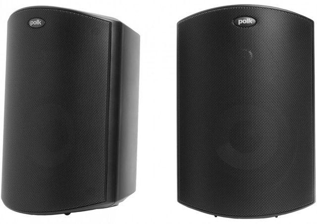 """Polk Audio® Atrium®5 Black 5"""" All Weather Outdoor Loudspeaker (Pair)-AM5085"""