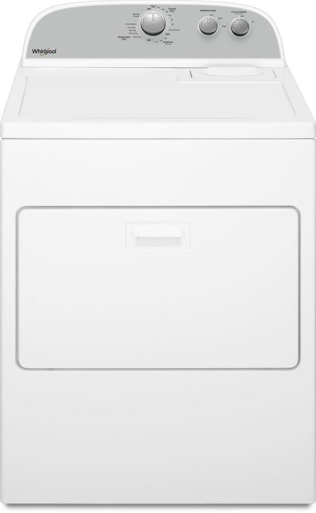 Whirlpool® Front Load Electric Dryer-White-WED4950HW