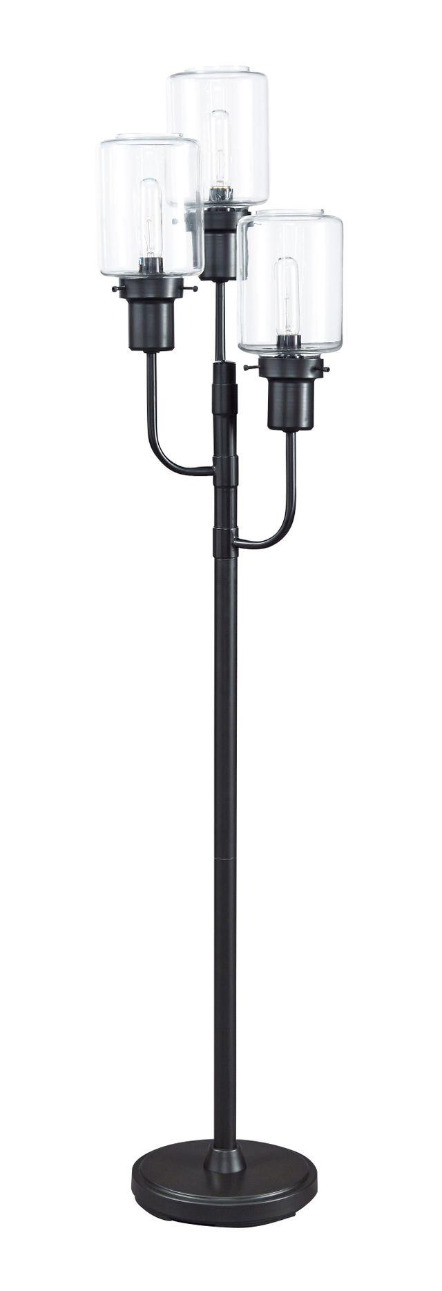 Signature Design by Ashley® Jaak Bronze Finish Metal Floor Lamp-L207171