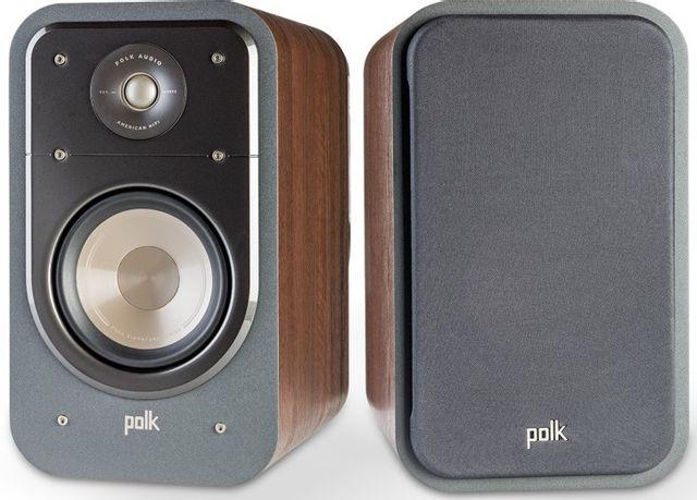 "Polk Audio® Signature Series S20 Classic Brown Walnut 6.5"" Home Theater Bookshelf Speaker (Pair)-AM9634"