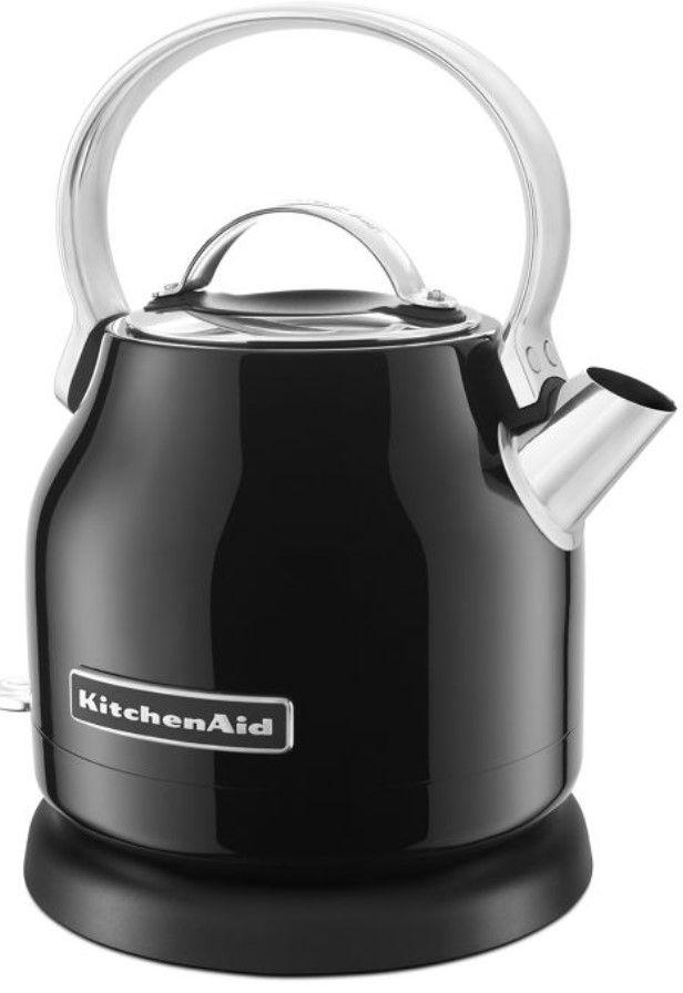 KitchenAid® 1.25 L Onyx Black Electric Kettle-KEK1222OB