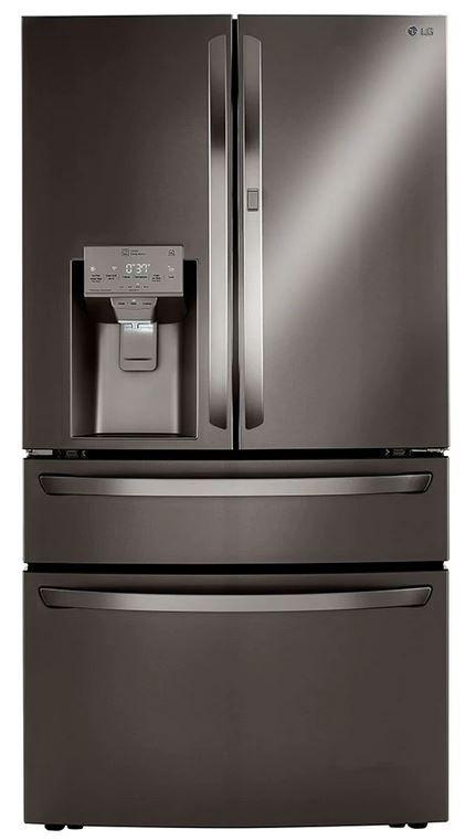LG 22.5 Cu. Ft. PrintProof™ Black Stainless Steel Smart Wi-Fi Enabled Counter Depth Refrigerator-LRMDC2306D