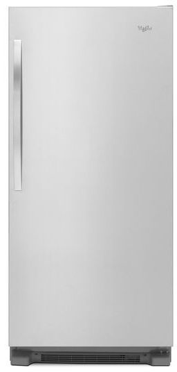 Whirlpool® Sidekicks® 18 Cu. Ft. All Refrigerator-Monochromatic Stainless Steel-WSR57R18DM