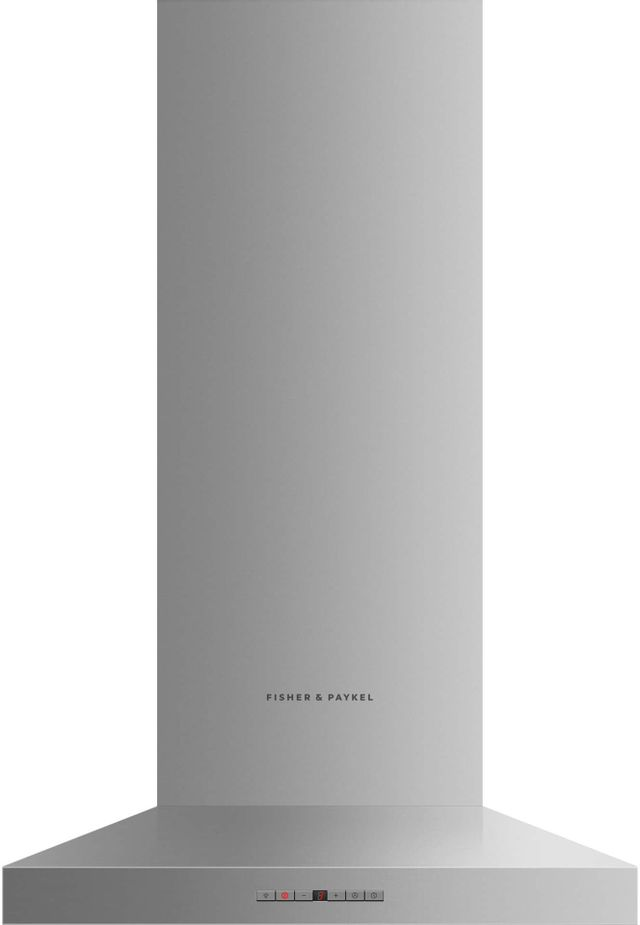 Hotte de cuisinière murale Fisher Paykel® de 24 po - Acier inoxydable-HC24PHTX1 N