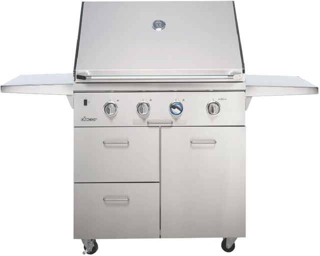 """Dacor® Professional 36"""" Outdoor Grill Cart-Stainless Steel-OBC36"""