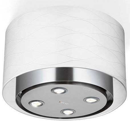 """Faber Zoom 16.13"""" Stainless Steel Ceiling Mounted Range Hood-ZOOMIL16SS400"""