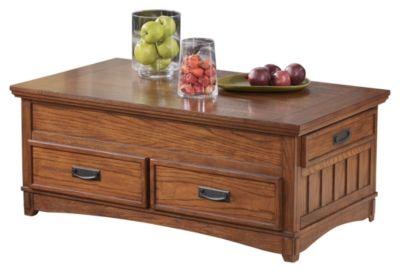 Signature Design by Ashley® Cross Island Medium Brown Lift Top Coffee Table-T719-9