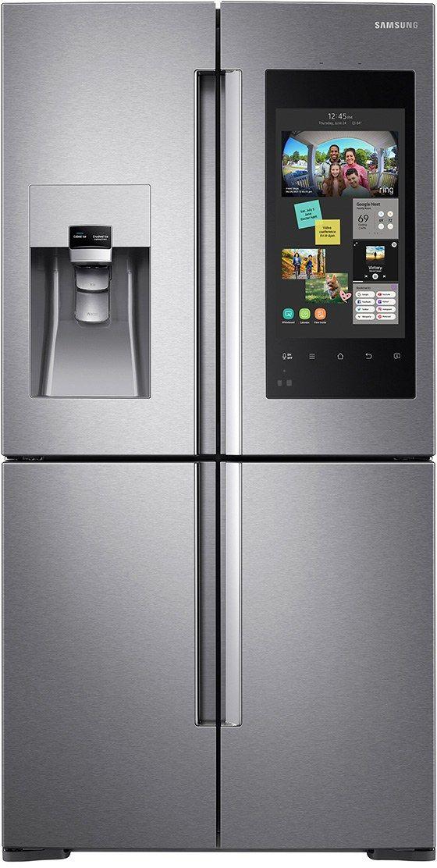 Samsung 22 Cu. Ft. Capacity Counter Depth Refrigerator-Fingerprint Resistant Stainless Steel-RF22N9781SR-RF22N9781SR