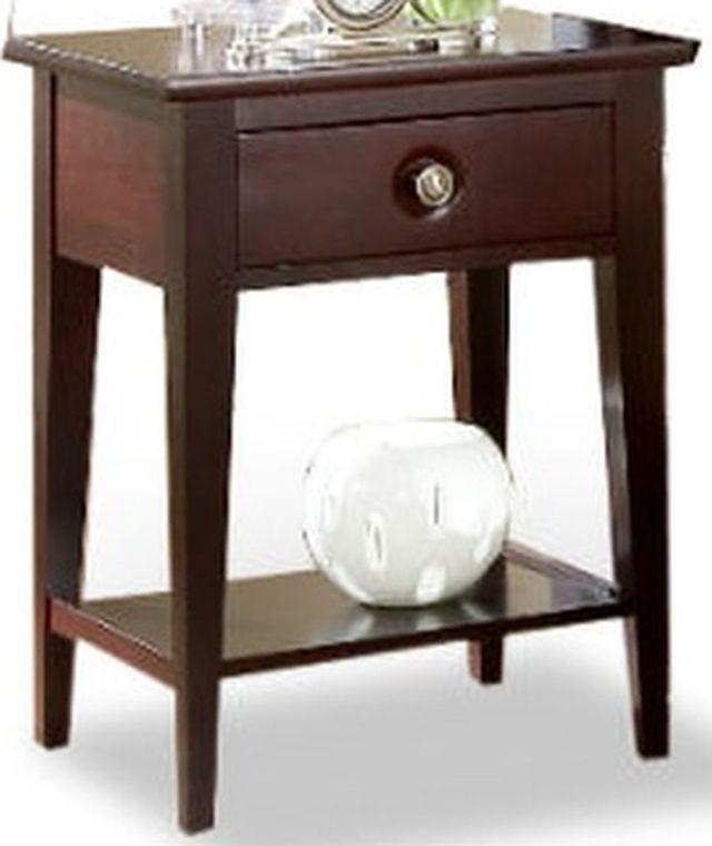 Durham Furniture Manhattan Cabernet Nightstand-227-205