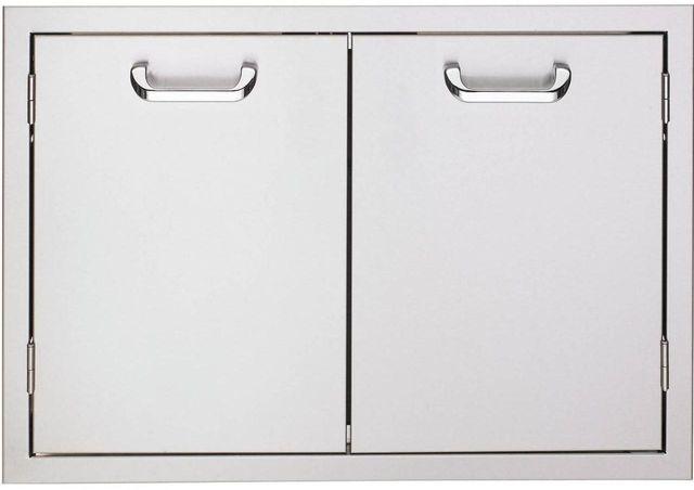 "Lynx® Sedona 30"" Double Access Doors-Stainless Steel-LDR530"
