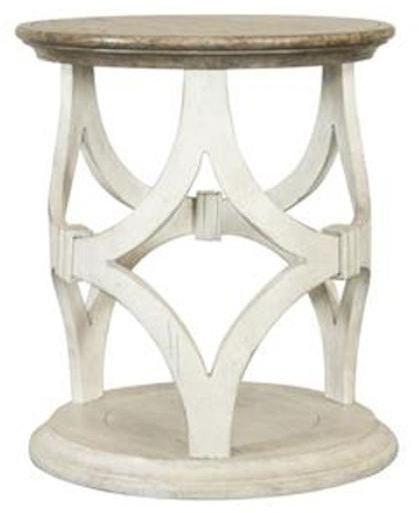 Riveriside Furniture Elizabeth Round Side Table-71609