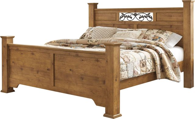 Signature Design by Ashley® Bittersweet Light Brown King Poster Footboard-B219-84