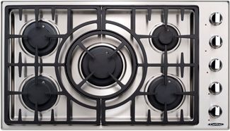 """Capital Maestro 36"""" Stainless Steel Gas Cooktop-MCT365GSN"""