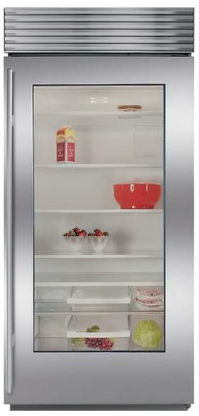 Sub-Zero 23.4 Cu. Ft. Built-In Refrigerator-Stainless Steel-BI36RGS