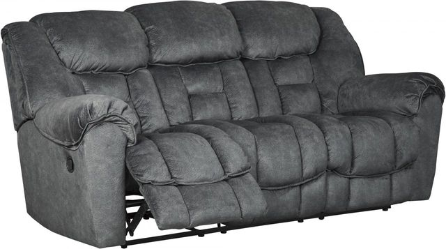 Signature Design by Ashley® Capehorn Granite Reclining Sofa-7690288