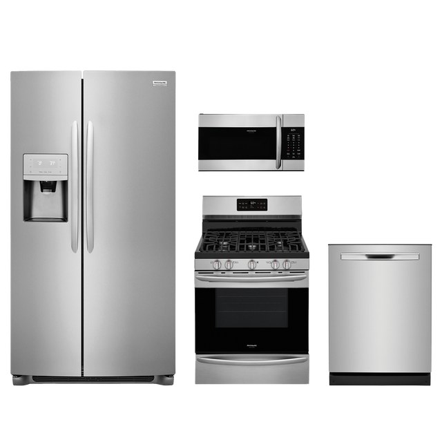 Frigidaire Gallery® 4 Piece Kitchen Package-Stainless Steel-FRGAKITGCRG3038AF