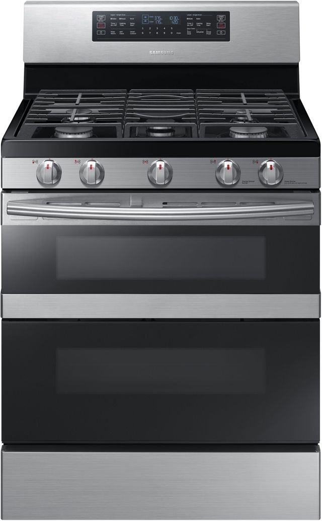 """Samsung 30"""" Free Standing Gas Range-Stainless Steel-NX58M6850SS"""