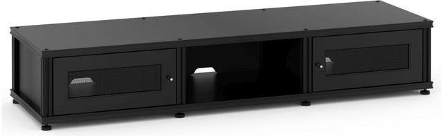 Salamander Designs® Synergy Model 132 AV Cabinet-Black-SB132B/B