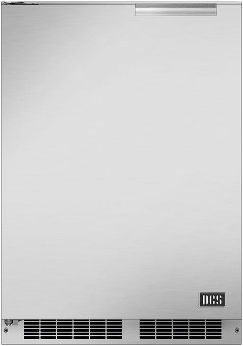"""DCS 23.88"""" Brushed Stainless Steel Outdoor Refrigerator-RF24LE3"""