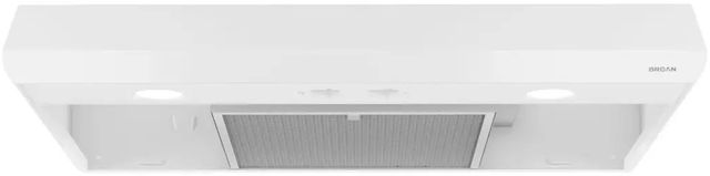 "Broan® Sahale BKSA1 Series 30"" Under Cabinet Range Hood-White-BKSA130WW"