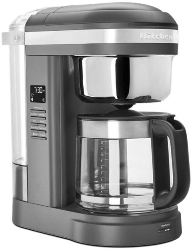 KitchenAid® 12 Cup Matte Charcoal Gray Drip Coffee Maker-KCM1209DG