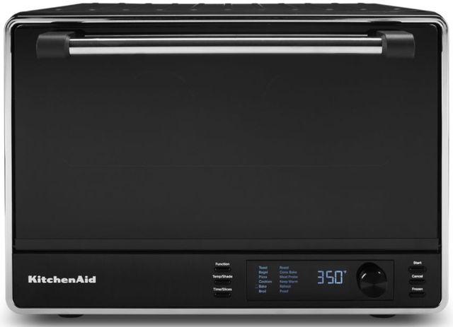 KitchenAid® Black Matte Countertop Oven-KCO255BM