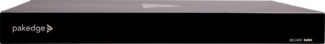 SnapAV Pakedge® MS Series Black Layer 3 Managed Switch with OvrC-MS-2400