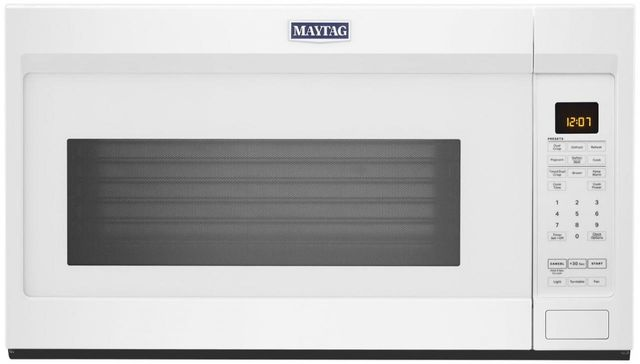 Maytag® 1.9 Cu. Ft. White Over The Range Microwave-MMV4207JW