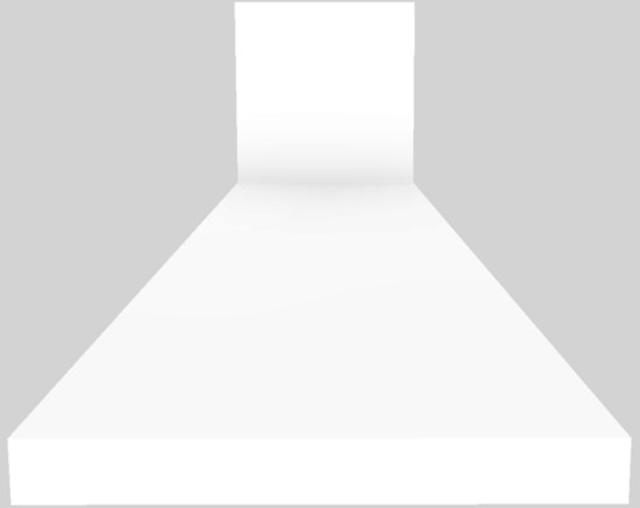 "Vent-A-Hood® 36"" Euro-Style Wall Mounted Range Hood-White-EPH18-236 WH"