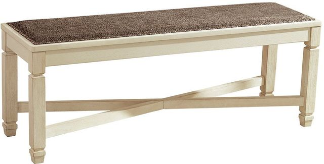 Signature Design by Ashley® Bolanburg Two Tone Dining Room Bench-D647-00