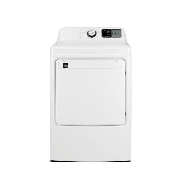 Midea® 7.5 Cu. Ft. White Front Load Electric Dryer-MLE45N1BWW