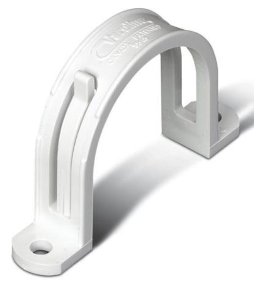 """Broan® 2"""" White Tubing Strap-V140"""