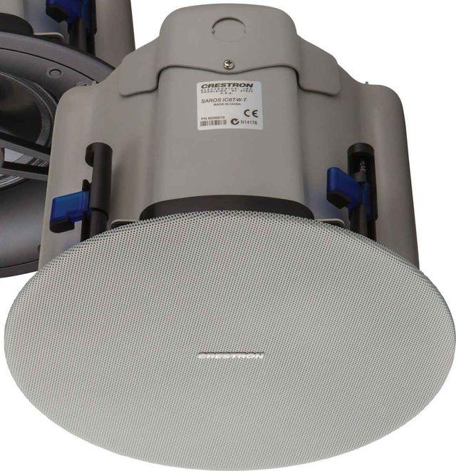 """Crestron® Saros® White Textured 6.5"""" 2-Way In-Ceiling Speaker-SAROS IC6T-W-T-EACH"""