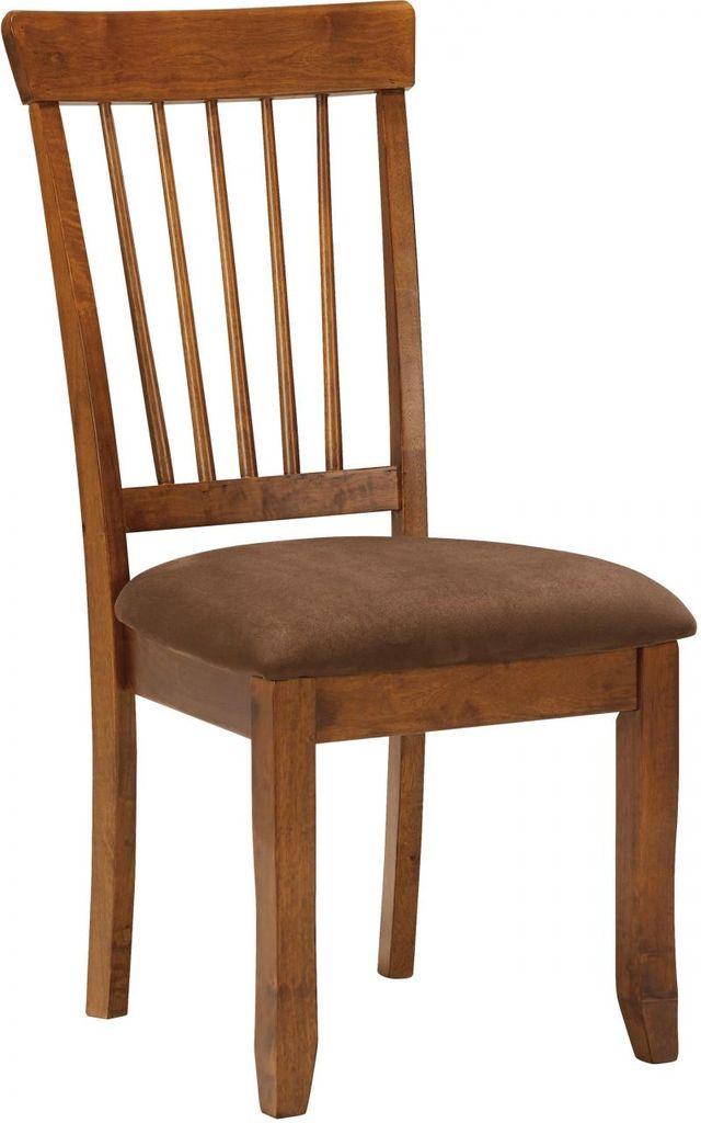 Ashley® Berringer Rustic Brown Dining Upholstered Side Chair-D199-01