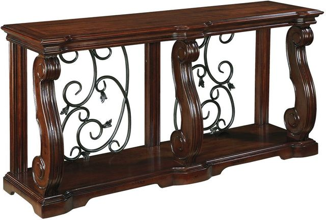 Signature Design by Ashley® Alymere Rustic Brown Sofa Table-T869-4