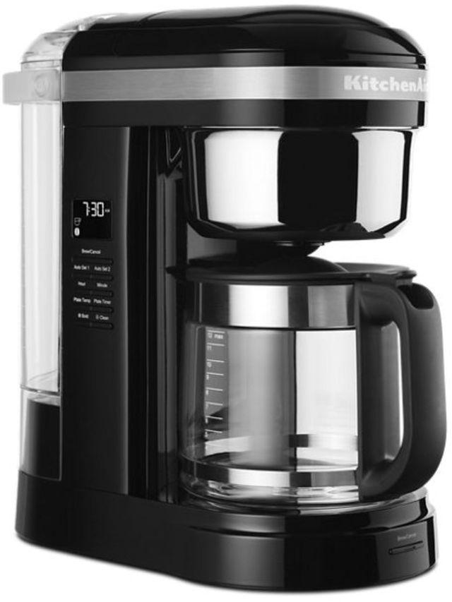 KitchenAid® 12 Cup Onyx Black Drip Coffee Maker-KCM1209OB