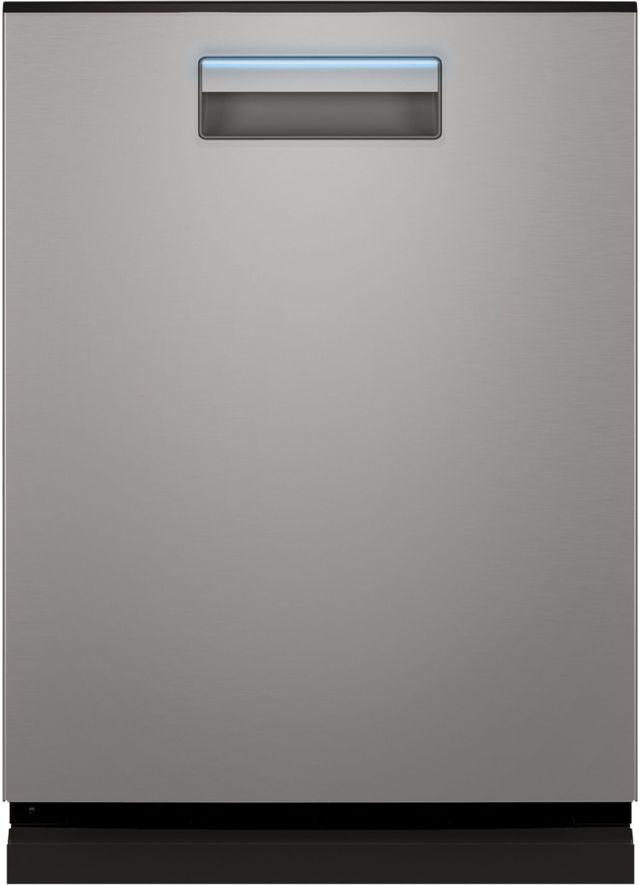 """Haier 23.75"""" Fingerprint Resistant Stainless Steel Built In Dishwasher-QDP555SYNFS"""