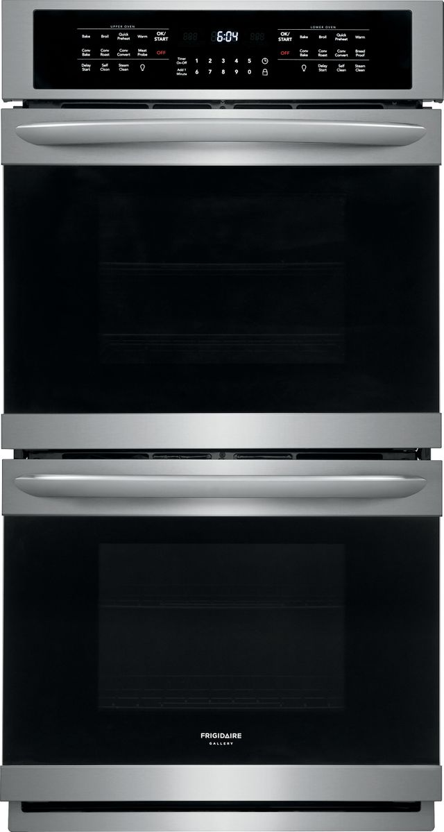 """Frigidaire Gallery® 27"""" Stainless Steel Electric Double Oven Built In-FGET2766UF"""