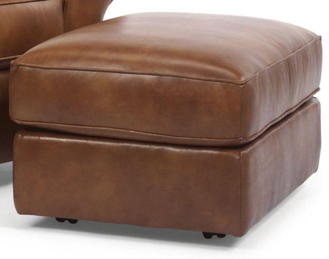 Flexsteel® Vail Leather Ottoman-3305-08
