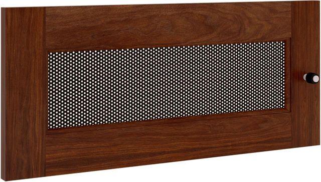 Salamander Designs® Synergy S10 Door-Walnut/Perforated Steel-SD10W/P