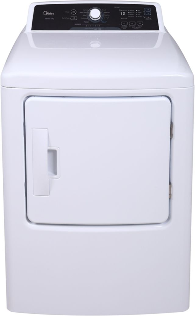 Midea® 6.7 Cu. Ft. Front Load Electric Dryer-MLE41N1AWW